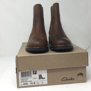 Clarks Orinoco Club Boots Snuff Brown SZ 6.5